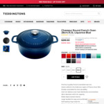 Chasseur Round French Oven 28cm/6.3L Liquorice $300 + Free Shipping (58% off, down from $719) @ Teddingtons