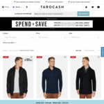 Save $40 When You Spend $100 and Save $75 When You Spend $180 @ Tarocash
