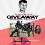 "Win a Samsung 22"" Monitor & Corsair Headset from TheBoiSantana"
