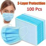 100x Face Masks 3 Ply $22.50 + Shipping (from $8.99) @ JohnnyBoy