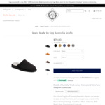Womens & Mens Made by Ugg Australia Scuffs - $33.90 Delivered @ Ugg Australia