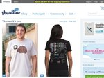 Threadless Tshirts: Free Shipping When You Spend Minimum USD $50