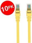 10x Belkin 2m Yellow CAT6 Network Cable $25 Shipped @ Electronics Marketplace via Kogan