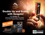 Win a Seagate FireCuda & Steam Card Prize Pack Worth $2,074 or SSDs/Steam Cards from Seagate
