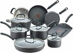 [Prime] T-FAL E765SE Ultimate Hard Anodized Titanium Nonstick Cookware Set, 14-Piece $161.62 Delivered @ Amazon AU