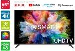 """[Kogan First] Kogan 65"""" 4K Smart TV $499 I Sony Noise Cancelling WH-1000XM4 $359 Delivered @ Kogan"""