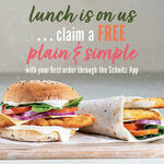 Free Plain & Simple Sandwich with $3+ Spend for New Schnitz App Users