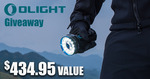 Win a Marauder 2 Torch in Black Worth $434.95 from Olight Australia