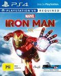 [PS4, PSVR] Iron Man for PSVR $20 + Shipping ($0 with Prime) at Amazon AU