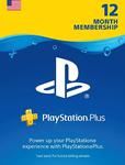 [US] PlayStation Plus 12 Month US$29.99 (A$40.61) @ CD Keys