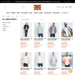 $20 Mens Shirts | Ends Midnight + $8.80 Delivery / Free with $100 @ Rivers
