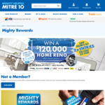 Win a Home Reno Worth $120,000 from Mitre10