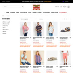 4 for $40 Selected Clearance Items + $8.80 Delivery (Free with $100 Spend) @ Rivers
