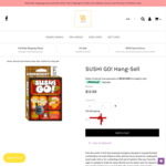 Sushi Go! (Hang-Sell) $18, Patchwork $40, WOW SmallWorld $75, $0 Adelaide Pickup, $10 Delivery ($5 Metro) @ Board Games Master