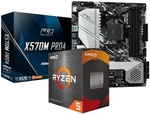 AMD Ryzen 5 5600X + ASRock X570M Pro4 Bundle $549 + $9.90 Delivery @ PC Byte