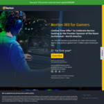 Norton 360 for Gamers Subscription US$1 (~A$1.30) for First Year (Then US$99.99/Year, ~A$130) @ Norton USA