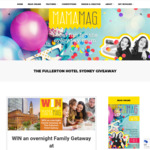 Win an Overnight Family Getaway at The Fullerton Hotel Sydney worth $470 from MamaMag