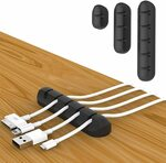 25% off 3 Pack Cable Management 5 3 1 Slots Assorted Packing  $5.99 + Delivery ($0 w/ Prime/ $39 Spend) @ Twinspail Amazon