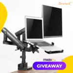 Win a Brateck Monitor Mount Worth $159 from Mwave