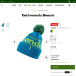 Kathmandu Beanie $15 (Was $20) + Free Shipping @ Kathmandu