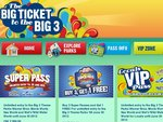 Buy 3 Super Passes (Movie World, Sea World, Wet 'N' Wild) and Get 1 Free