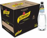 Schweppes Natural Mineral Water, 12 x 1.1L $15 ($13.5 S&S) + Delivery ($0 with Prime/ $39 Spend) @ Amazon AU