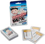 Monopoly Deal Card Game, Monopoly Bid Card Game $4 + Delivery ($0 with Prime / $39 Spend) @ Amazon AU