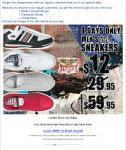 Rivers selected mens sneakers $12