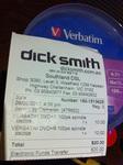 Verbatim DVD+R Printable 100 Pack $10 @ DickSmith Southland Clearance