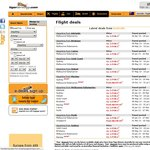 Tiger Airways 2-for-1 Sale for Restricted Dates in 2013