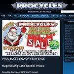 Procycles Sydney Motorcycle Gear Christmas Sale up to 50% off