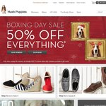 50% off Full Priced Hush Puppies at HushPuppies.com.au