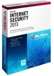 McAfee Internet Security 2013 OEM 3 User $19 at Computers & Parts Land