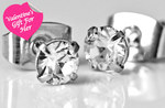 FREE 4mm Crystal Stud Earring Including Delivery RRP $39.95