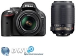 Nikon DSLR D5200 twin kit with Nikon 18-55mm VR and 55-200mm VR $799 DELIVERED METRO