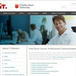 Free University Short Course: Professional Communications from Charles Sturt University