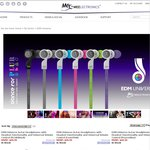 MEElectronics EDM Universe Earphones w/ Remote & Volume Control - US $29.99 + $6 Postage