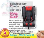 Baby Love Ezy Combo Convertible Booster Seat $169 @ Pram Warehouse RRP $279.99
