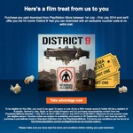 Free District 9 Download PS Store (Valued $7.99) with Purchase of Any Paid Download (Avatar $0.35)