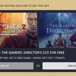 FREE: The Witcher 2 (PC) & The Gamers (Movie) @ GOG