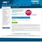 Redeem ANZ Reward Points for Velocity Points and Earn 20% Bonus Velocity Points