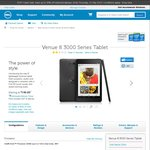 Dell Venue 8 3000 Series Android Tablet - $149