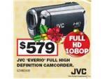 JVC Everio GZ-JM200 HD Video Camera $579 at Harvey Norman