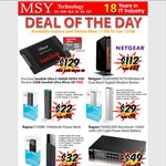 MSY 2-Day Sale: SanDisk Ultra II 240GB SSD + 32GB Ultra MicroSD $129, Power Banks from $22, More