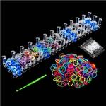 Loom Band Kit - DIY Colourful Rainbow Bands 600 Pcs $2 + Shipping @ Crazy Sales