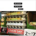 Large Coles Australian Free Range Eggs 600g 12pk - 2 for $7 ($3.50 Each)