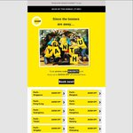 SCOOT $30 off Lots of Fares