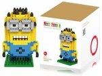 Minion Building Block 260 Pcs $1.99 USD (~$2.81 AUD) Delivered @ DealsMachine