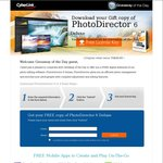 [PC] FREE: CyberLink PhotoDirector 6 Deluxe (Normally US $50)