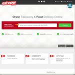$10 off EatNow Delivery, CC Payment & 1 Use Only